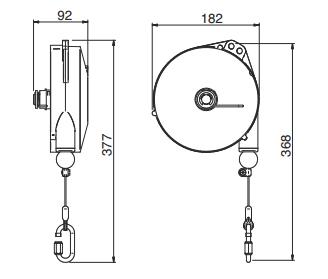 Medidas Balanceador de Herramientas Tecna Light 10-12