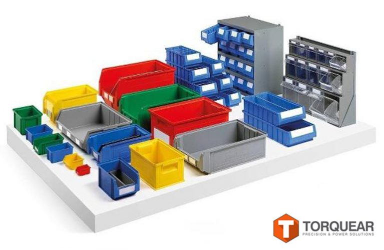 contenedores plásticos de distintos tamaños